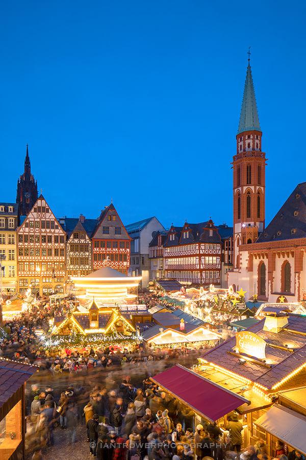 Christmas Market, Frankfurt, Germany