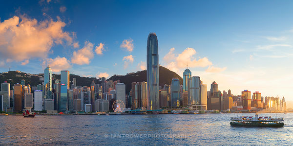 Skyline and Star Ferry, Hong Kong