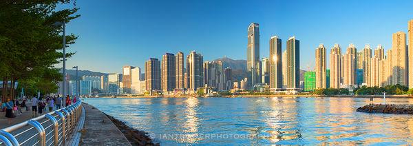 Tsuen Wan skyline, Hong Kong