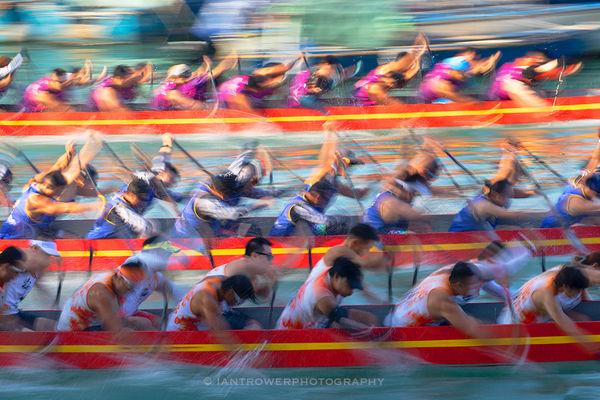 Dragon boat races, Hong Kong