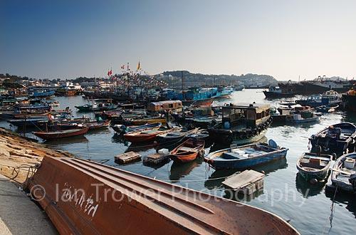 Fishing Boats, Cheung Chau Island