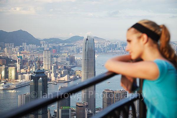 View from Peak, Hong Kong