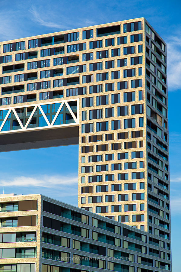 Pontsteiger apartment block, Amsterdam, Netherlands