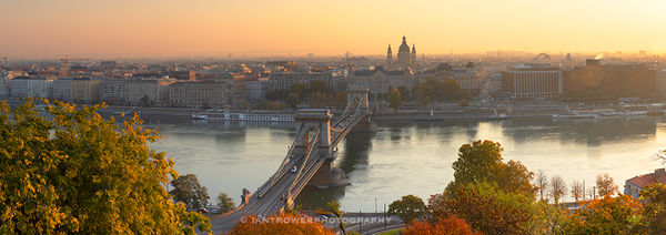 Budapest at dawn, Hungary
