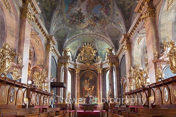 Interior of Basilica, Gyor
