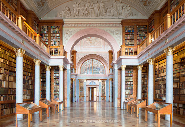 Library of Pannonhalma Abbey, Gyor, Hungary