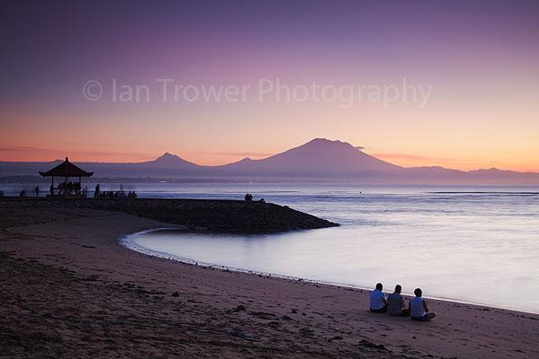 Sanur at dawn, Bali