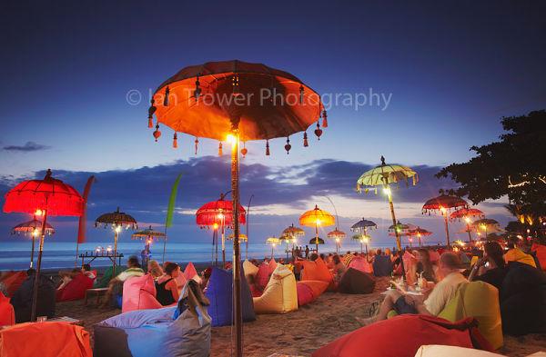 Parasols on Legian Beach, Bali