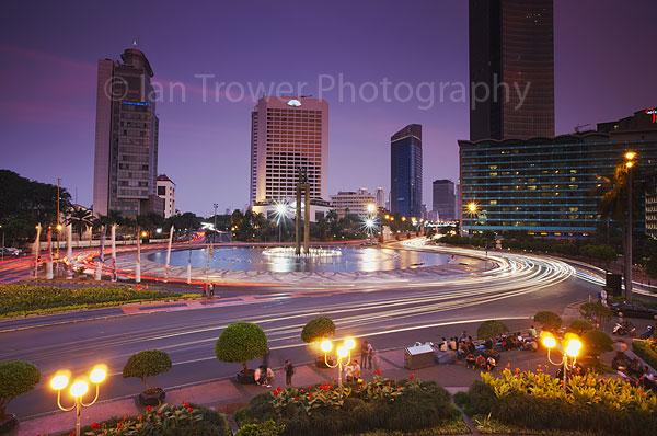 Rush hour, Jakarta, Java