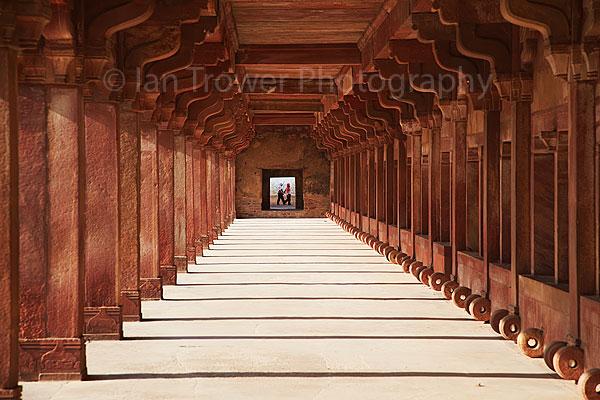 Pillars at Fatehpur Sikri