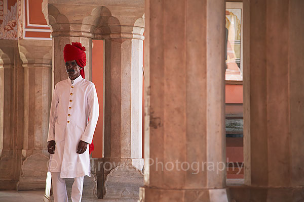 City Palace guard, Jaipur