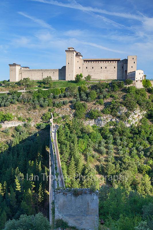 Rocca Albornoziana and Ponte delle Torri, Spoleto, Umbria