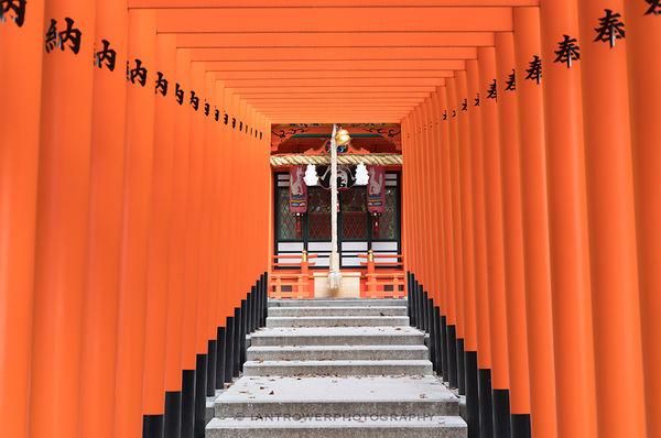 Tori gates, Kobe, Japan