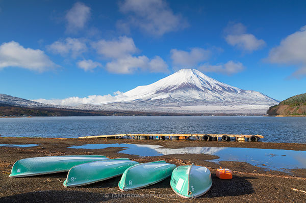 Mount Fuji and Lake Yamanaka, Japan