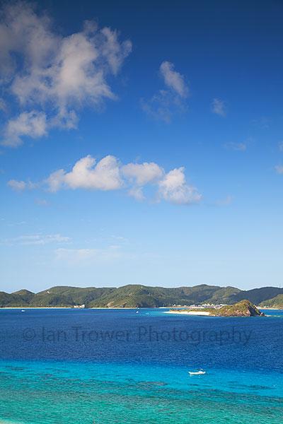 View from Nishibama Beach, Aka Island