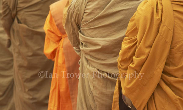 Monks' Robes, Wat Phu, Champasak