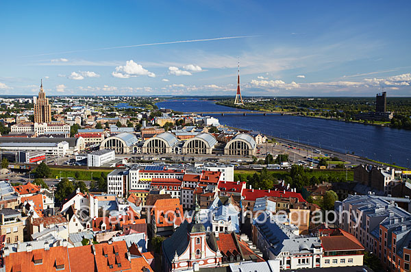 View Of Riga Old Town