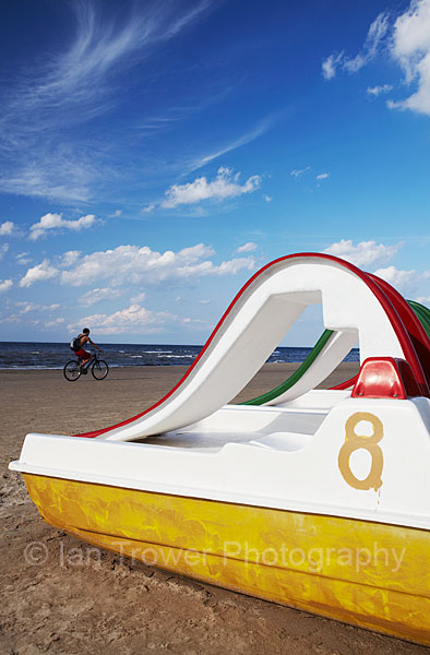 Pedalo On Jurmala Beach, Riga