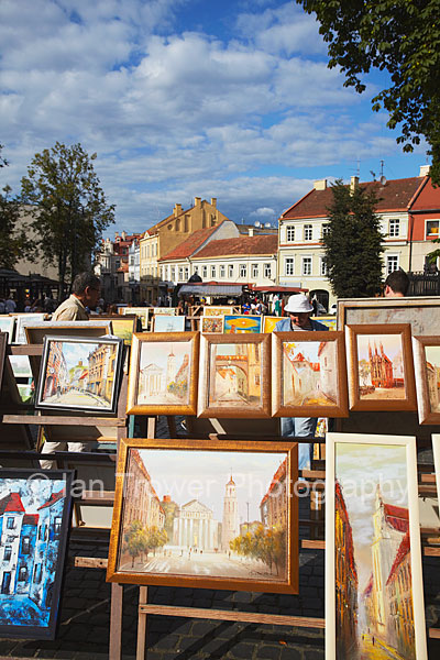 Craft Market Paintings, Vilnius