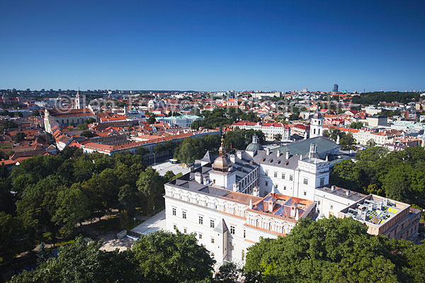 View Of Old Town, Vilnius