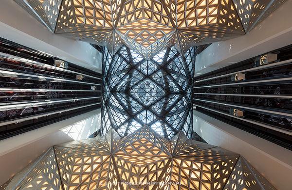 Interior of Morpheus Hotel, Macau