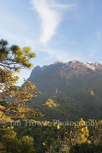 Mount Kinabalu At Dawn, Sabah