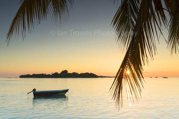 Sunset at Rasdhoo Island