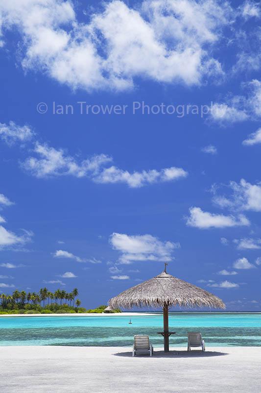 Parasol at Olhuveli Resort