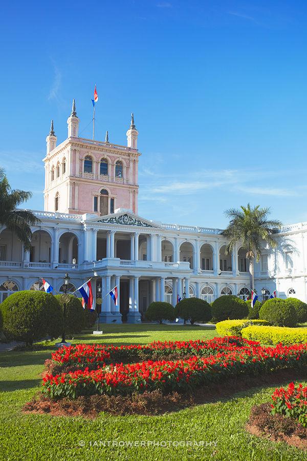 Palacio de Lopez, Asuncion, Paraguay