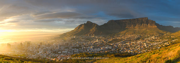 Cape Town at sunrise, South Africa