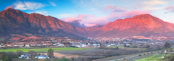 Franschhoek valley, Western Cape, South Africa