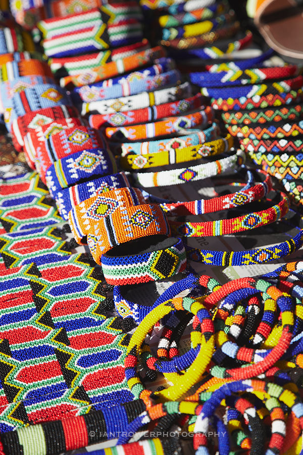 Colourful jewellery, Durban, South Africa