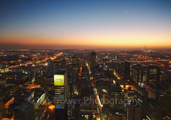 Downtown skyline, Johannesburg