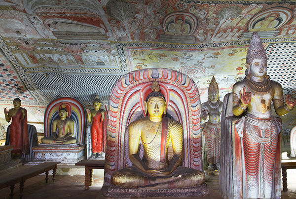 Dambulla Royal Cave Temple, Sri Lanka