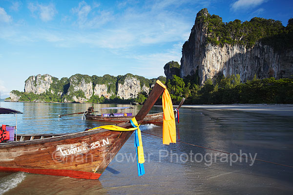 Long Tail Boat, Railay, Krabi