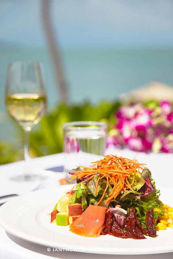 Lunch at Melati Beach Resort, Ko Samui, Thailand