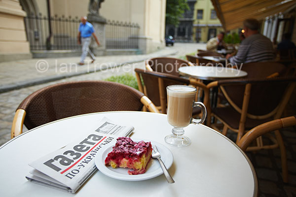 Morning Coffee, Lviv