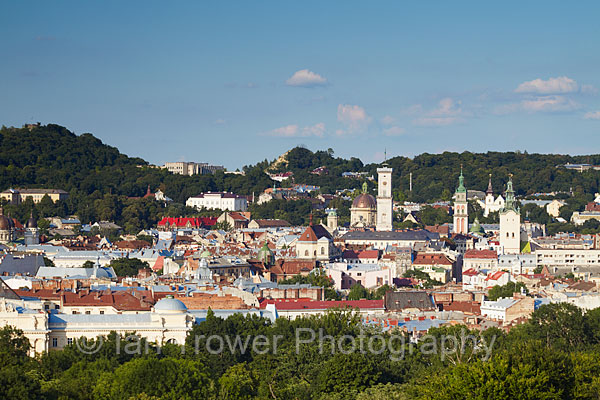 View Of Lviv Old Town