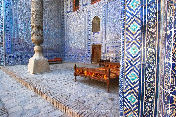 Tash Khovli Palace, Khiva, Uzbekistan