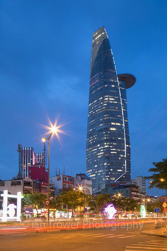Bitexco Finance Tower, Ho Chi Minh City, Vietnam