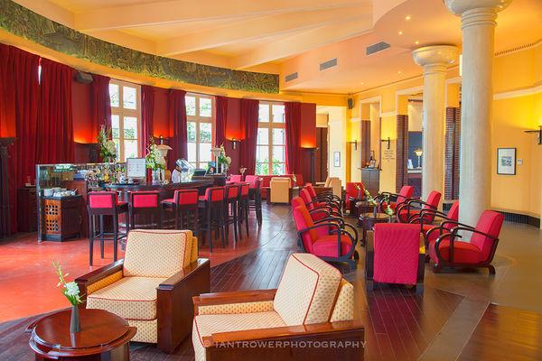 Bar in Azerai La Residence, Hue, Vietnam
