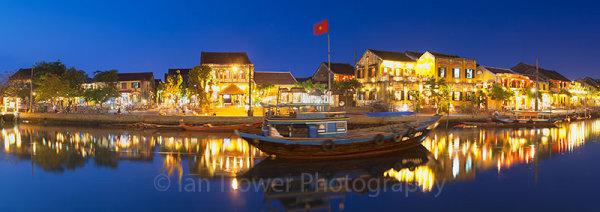 Hoi An at dusk, Vietnam