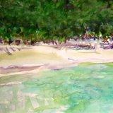 Beach Antipaxos, Greece