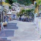 Panagia Square, Thassos, Greece