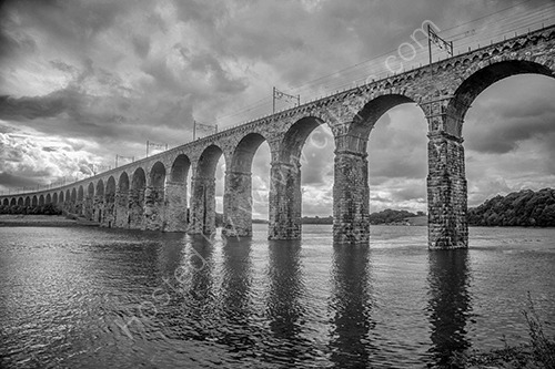 Berwick railway bridge