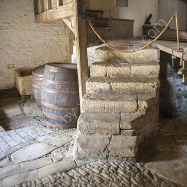 Brewery steps