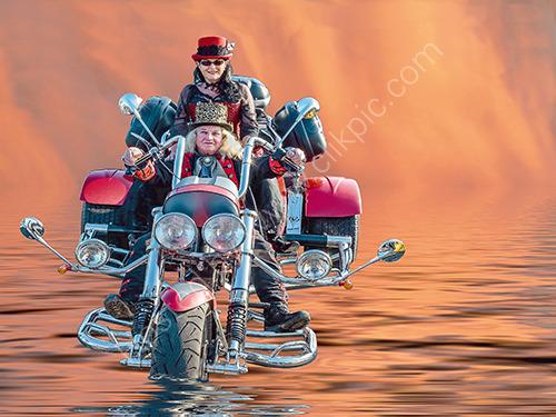 3rd. Dawn riders