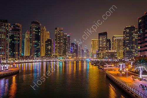 HC. Dubai Marina at Dusk