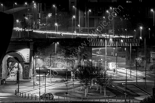 HC. Gateshead night scene