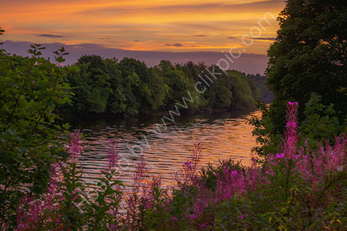 Newburn sunset